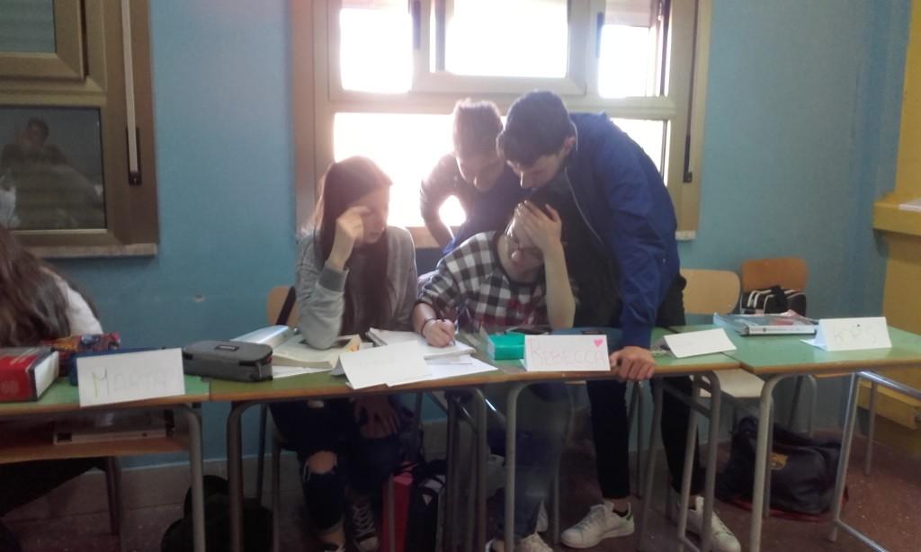 1. alunni 4B Liceo Vinci